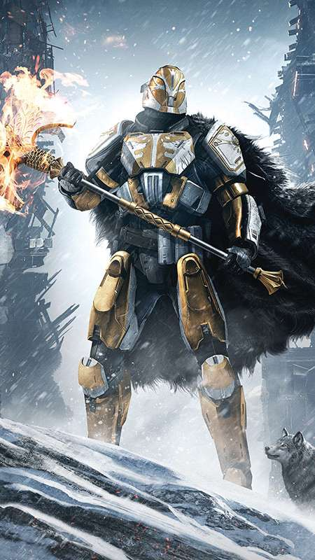 Destiny: Rise of Iron Mobile Vertical wallpaper or background