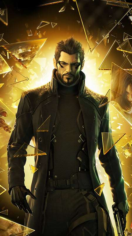 Deus Ex: Human Revolution Mobile Vertical wallpaper or background
