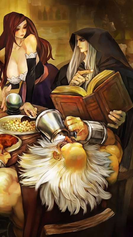 Dragon's Crown Mobile Vertical wallpaper or background