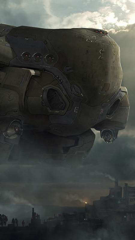 Dreadnought Mobile Vertical wallpaper or background