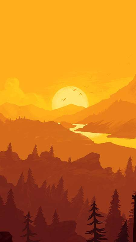 Firewatch Mobile Vertical wallpaper or background