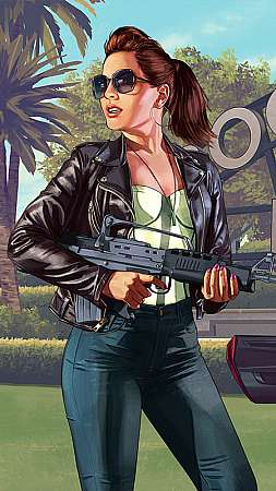 Grand Theft Auto 5 Mobile Vertical wallpaper or background