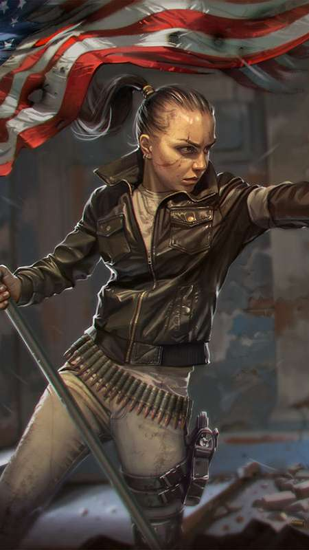 Homefront fan art Mobile Vertical wallpaper or background