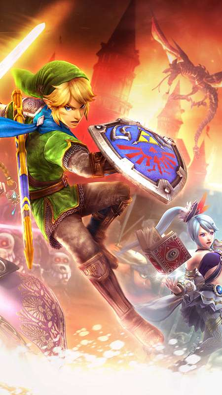 Hyrule Warriors Mobile Vertical wallpaper or background