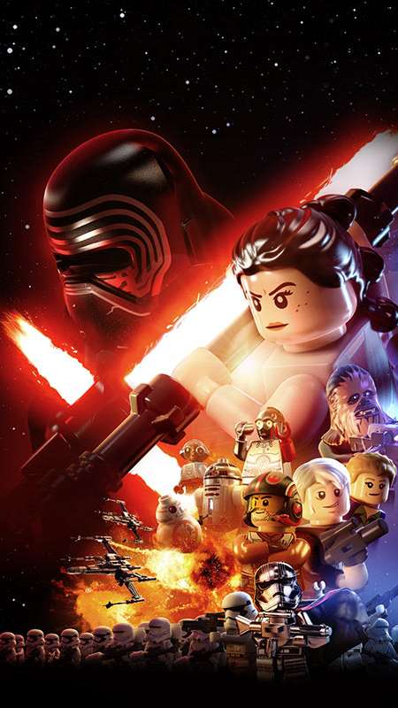 Lego Star Wars 3a The Force Awakens Wallpaper 01 1600x1200