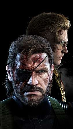 Metal Gear Solid: Ground Zeroes Mobile Vertical wallpaper or background