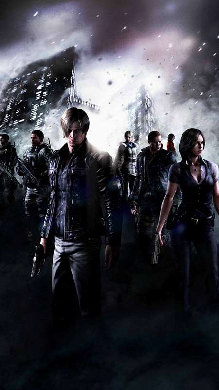 Resident Evil 6 Mobile Vertical wallpaper or background