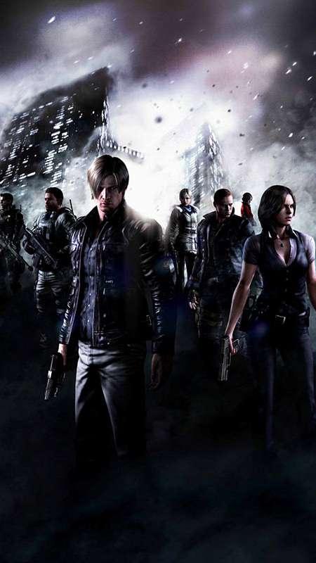 Resident Evil 6 Wallpaper Or Background 02 Mobile Tablet