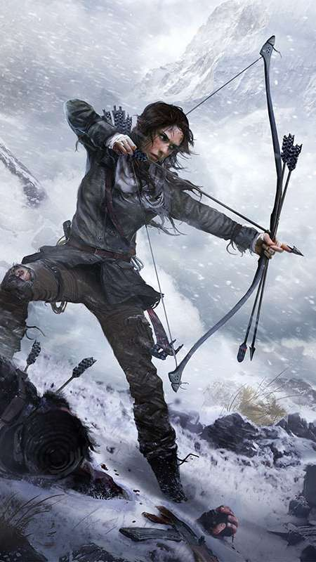 Rise of the Tomb Raider Mobile Vertical wallpaper or background