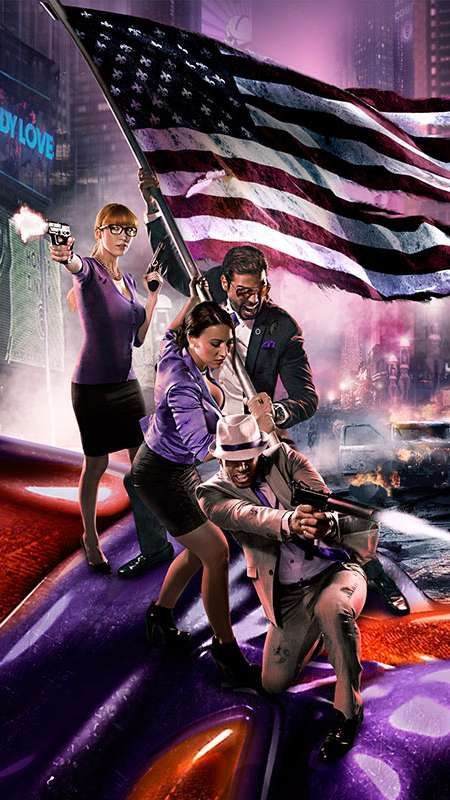 Saints Row 4 Mobile Vertical wallpaper or background
