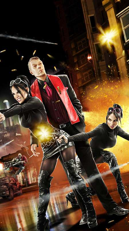 saints row the third wallpapers or desktop backgrounds