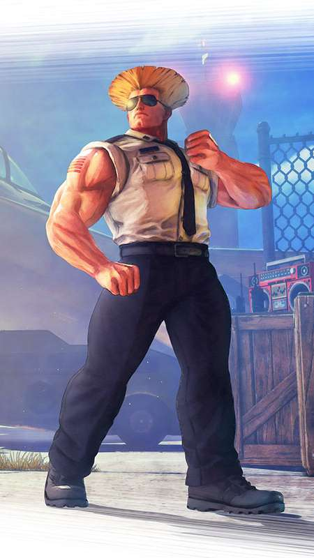 Street Fighter 5 Mobile Vertical wallpaper or background