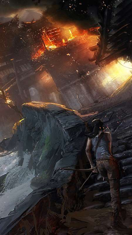 Tomb Raider Mobile Vertical wallpaper or background