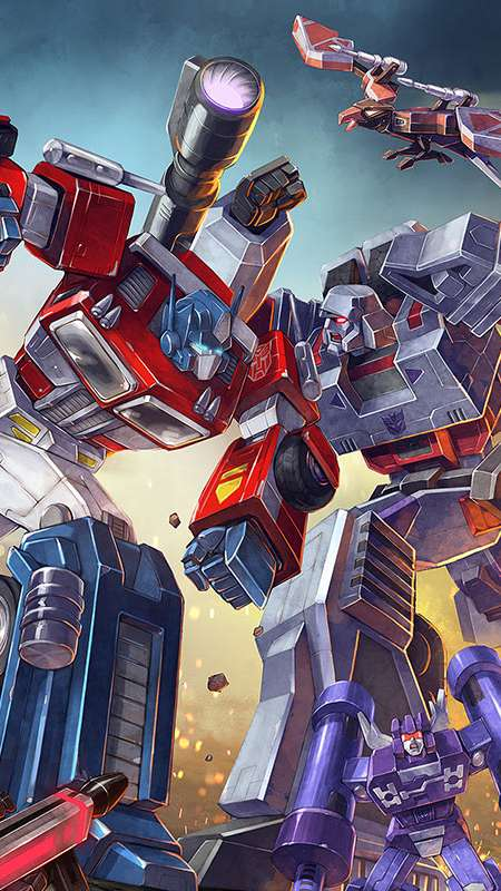 Transformers: Earth Wars Mobile Vertical wallpaper or background
