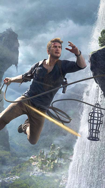 Uncharted 4: A Thief's End Mobile Vertical wallpaper or background