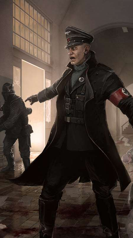 Wolfenstein: The New Order Mobile Vertical wallpaper or background