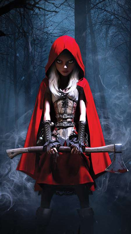 Woolfe: The Redhood Diaries Mobile Vertical wallpaper or background