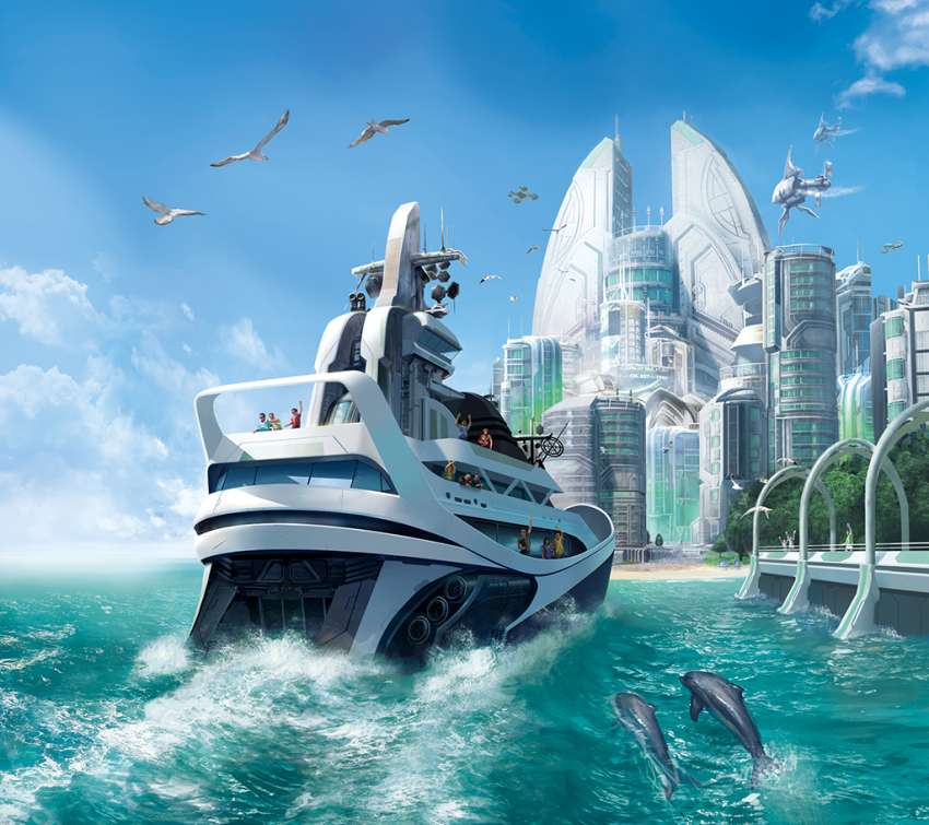 Anno 2070 wallpaper or background