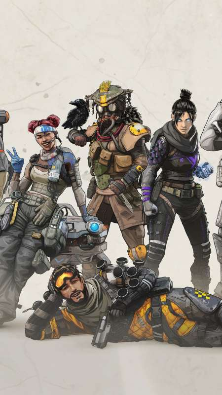 Apex Legends Mobile Vertical wallpaper or background