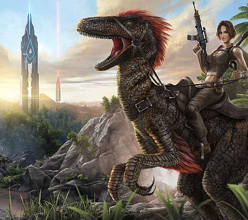 ARK: Survival Evolved Mobile Horizontal wallpaper or background