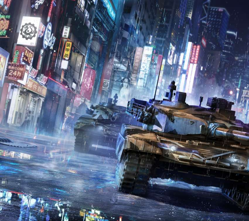 Armored Warfare Mobile Horizontal wallpaper or background