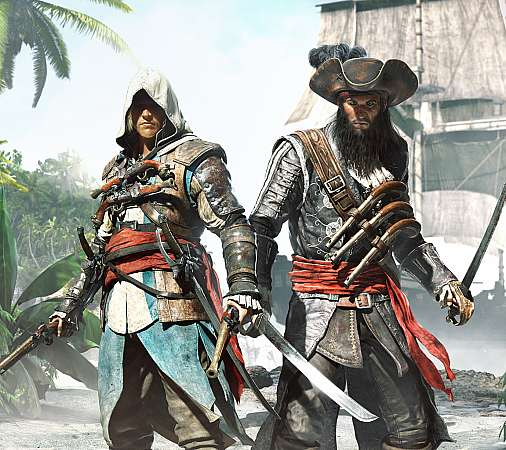 Assassin's Creed 4: Black Flag Mobile Horizontal wallpaper or background