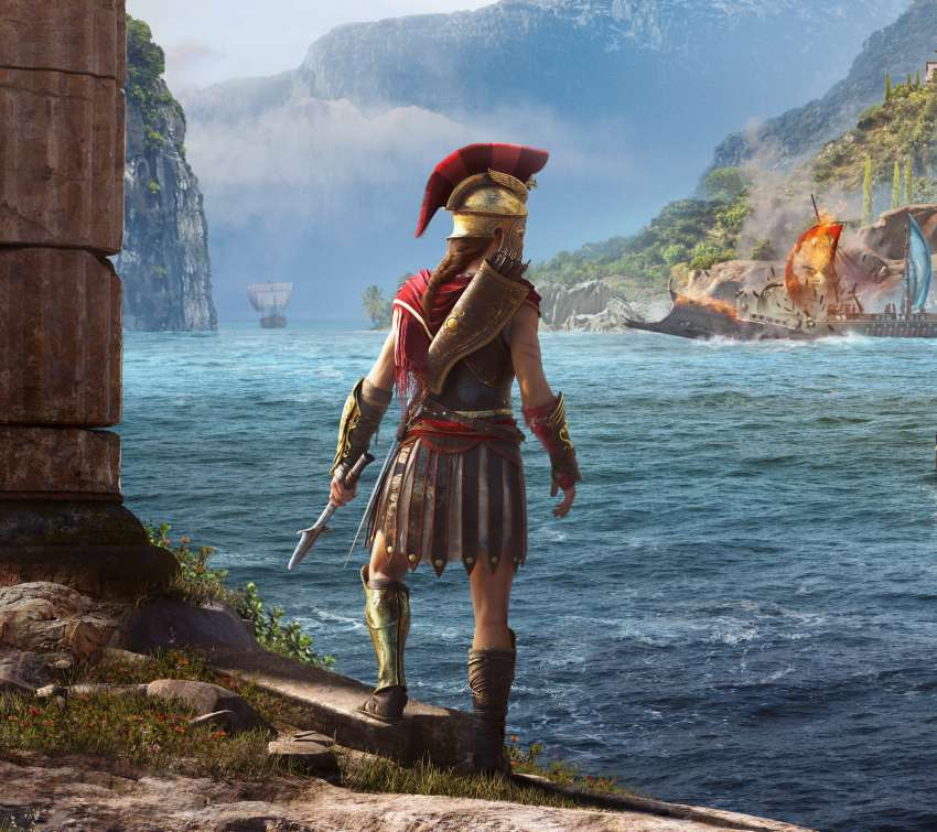 Assassin's Creed: Odyssey Mobile Horizontal wallpaper or background