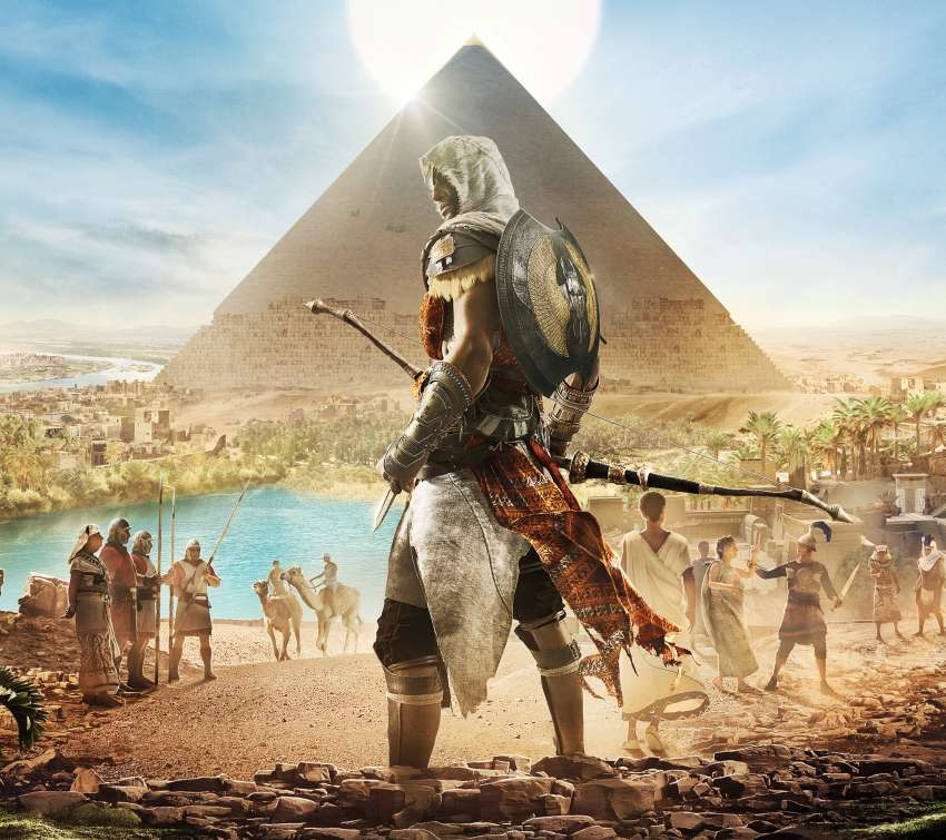 Assassin's Creed: Origins Mobile Horizontal wallpaper or background