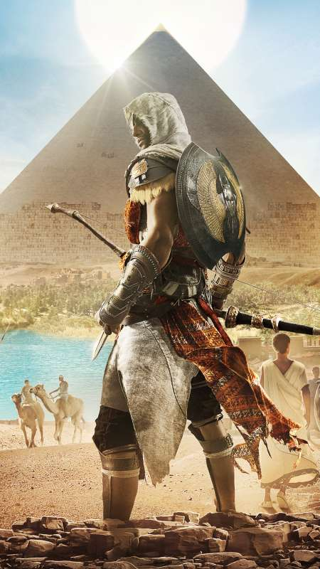 Assassin's Creed: Origins Mobile Vertical wallpaper or background