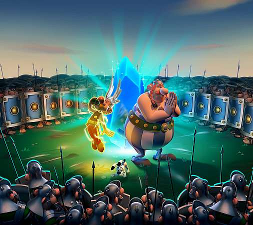 Asterix & Obelix XXL3: The Crystal Menhir Mobile Horizontal wallpaper or background
