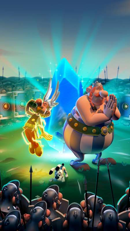 Asterix & Obelix XXL3: The Crystal Menhir Mobile Vertical wallpaper or background
