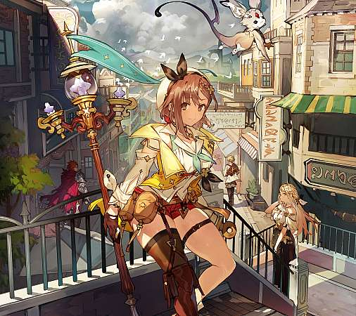 Atelier Ryza 2: Lost Legends & the Secret Fairy Mobile Horizontal wallpaper or background