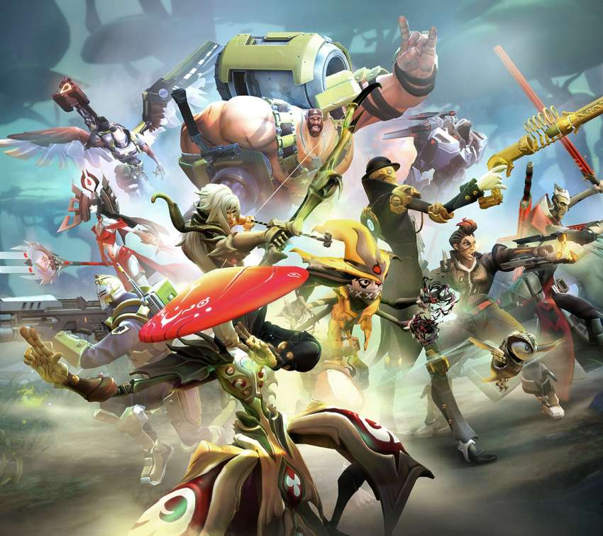 Battleborn Mobile Horizontal wallpaper or background