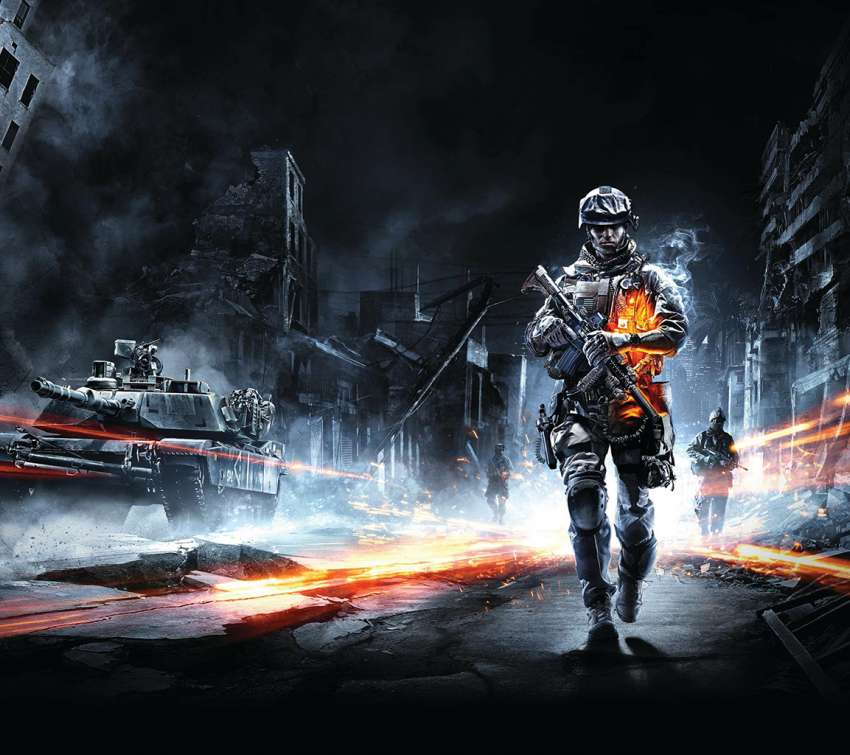 Battlefield 3 Mobile Horizontal wallpaper or background