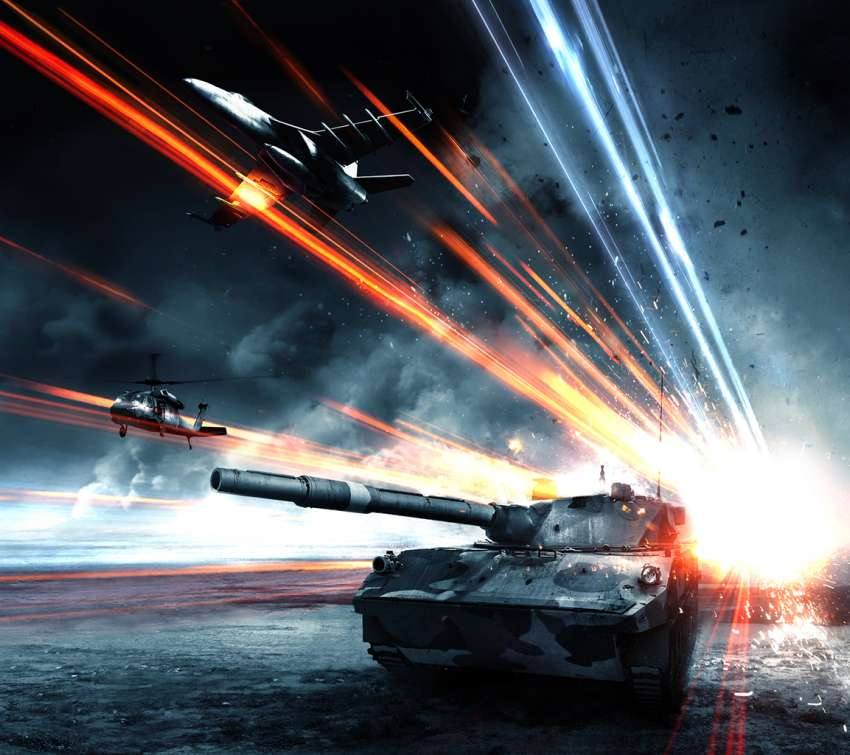 Battlefield 3: Armored Kill Mobile Horizontal wallpaper or background