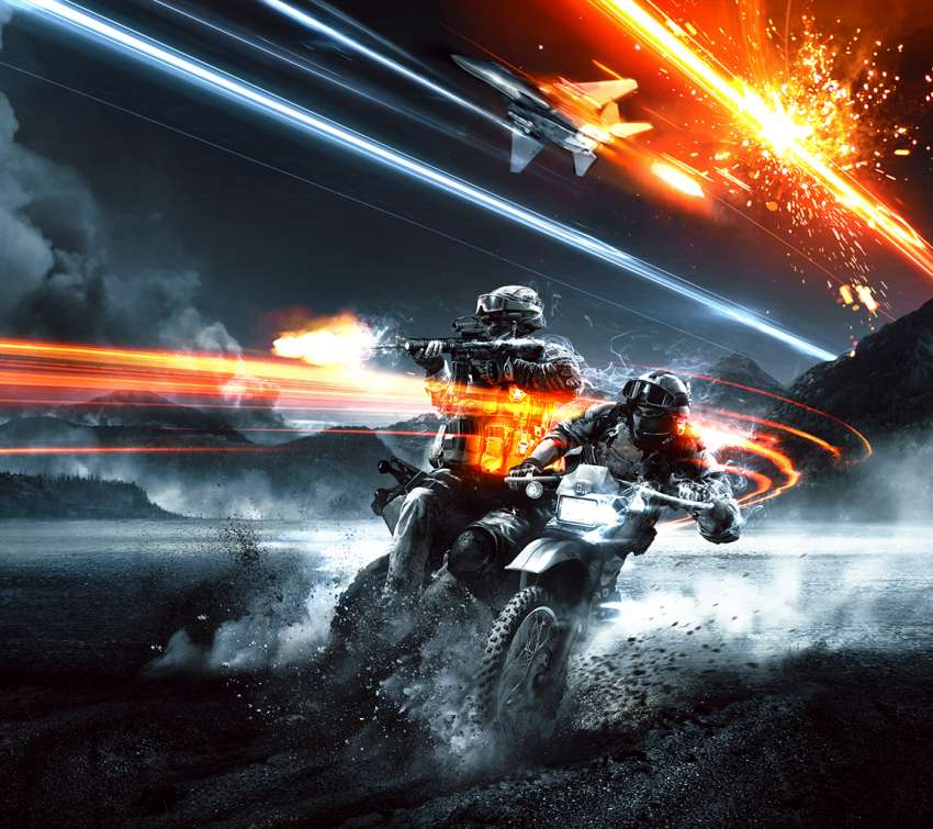 Battlefield 3: End Game Mobile Horizontal wallpaper or background