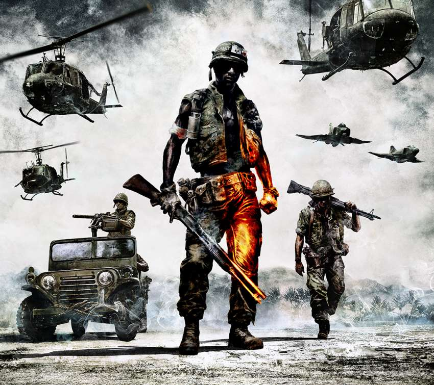 Battlefield: Bad Company 2 Vietnam wallpaper or background