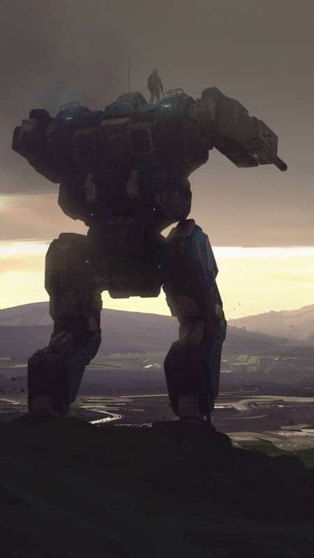 BattleTech Mobile Vertical wallpaper or background