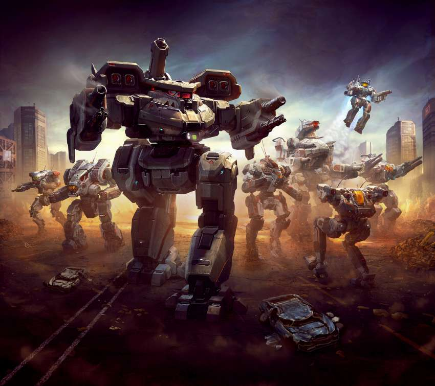 BattleTech Mobile Horizontal wallpaper or background