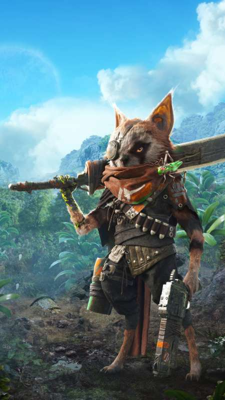 BioMutant Mobile Vertical wallpaper or background