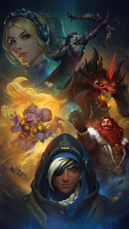 Blizzard Entertainment Mobile Vertical wallpaper or background