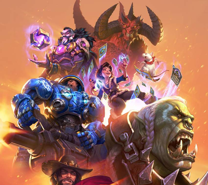 Blizzard Entertainment Mobile Horizontal wallpaper or background