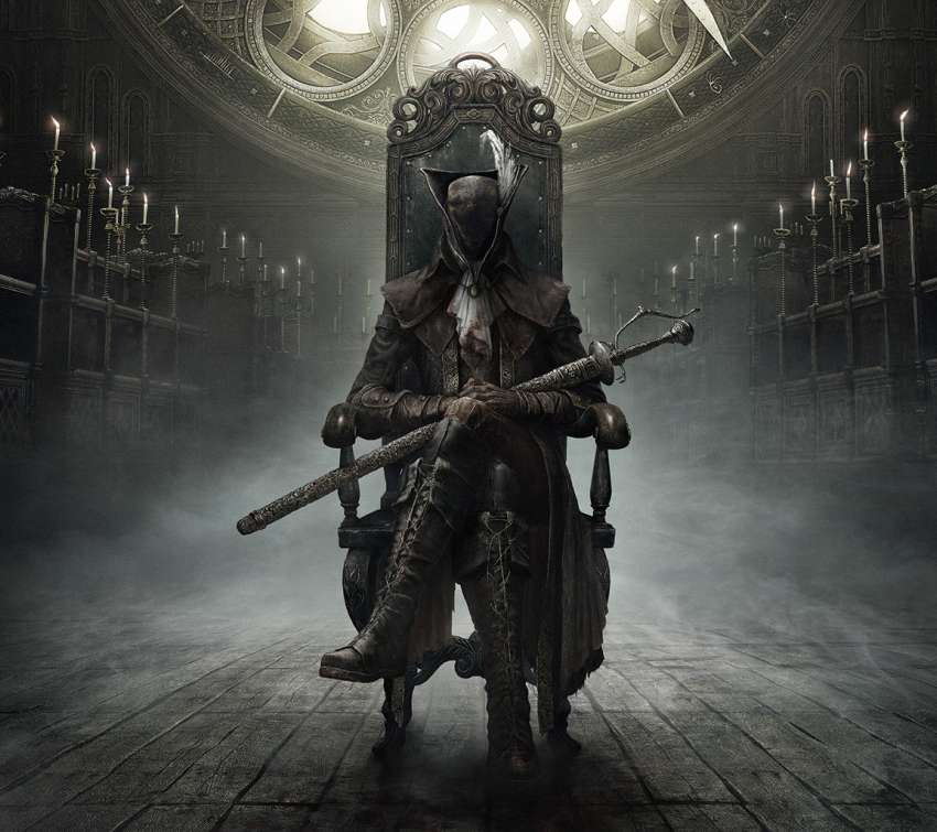 Bloodborne: The Old Hunters Mobile Horizontal wallpaper or background