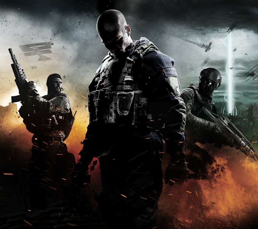 Call of Duty: Black Ops 2 Apocalypse Mobile Horizontal wallpaper or background