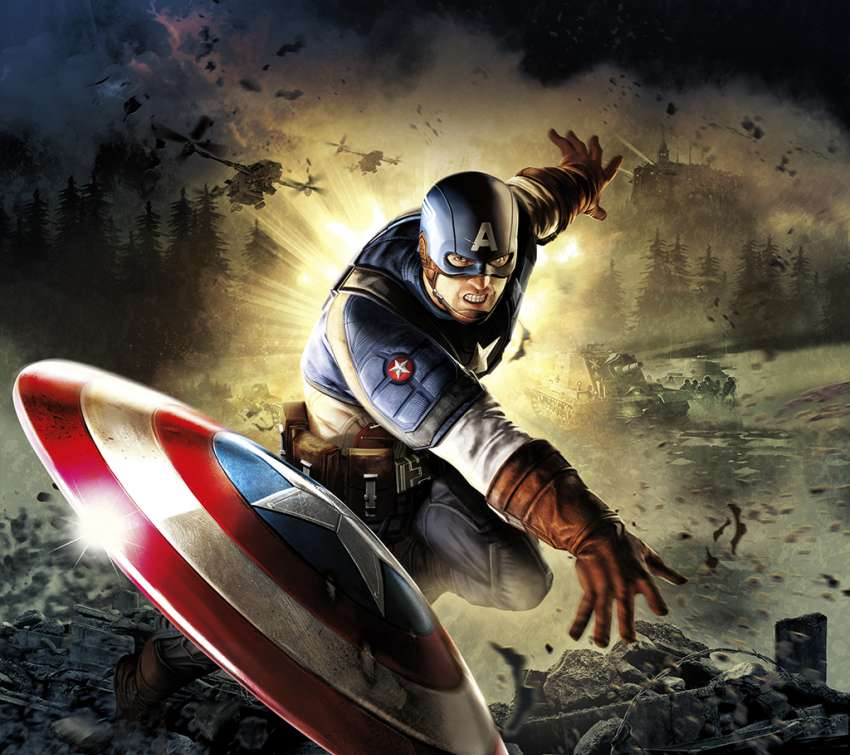 Captain America: Super Soldier wallpaper or background