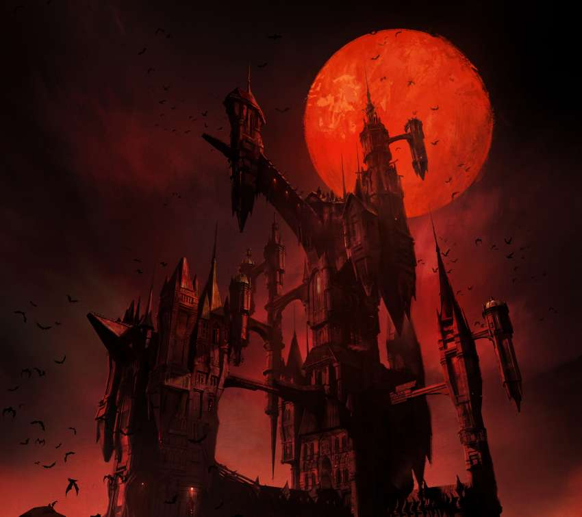 Castlevania 2017 Mobile Horizontal wallpaper or background