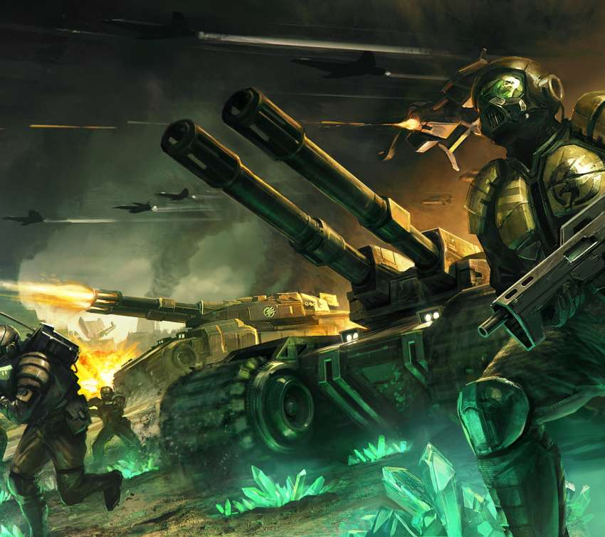 Command & Conquer: Tiberium Alliances Mobile Horizontal wallpaper or background