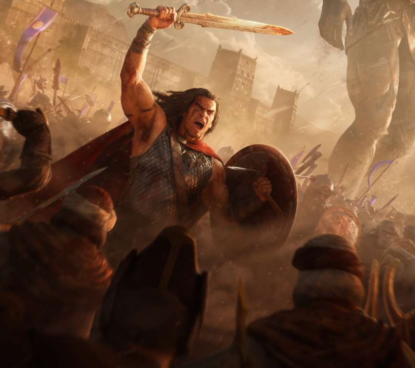 Conan Unconquered Mobile Horizontal wallpaper or background