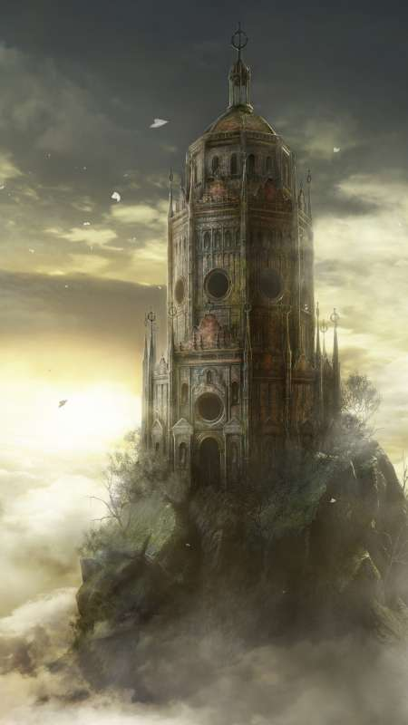 Dark Souls 3: The Ringed City Mobile Vertical wallpaper or background