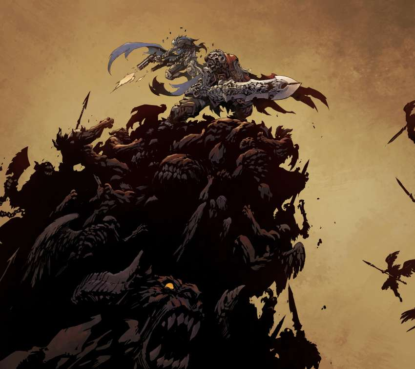 Darksiders: Genesis Mobile Horizontal wallpaper or background